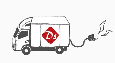 e-delivery イラスト画像